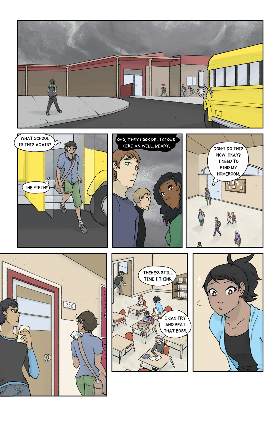 Chapter One – Page Seven
